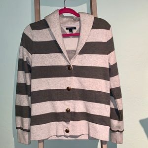 Tommy Hilfiger Striped Cardigan Sweater
